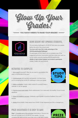 Glow Up Your Grades!