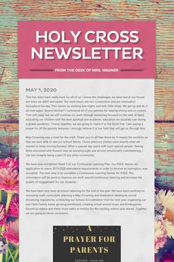 Holy Cross Newsletter