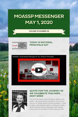 MoASSP Messenger May 1, 2020