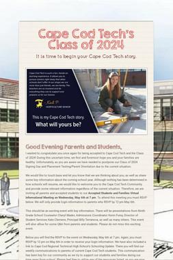 Cape Cod Tech's Class of 2024