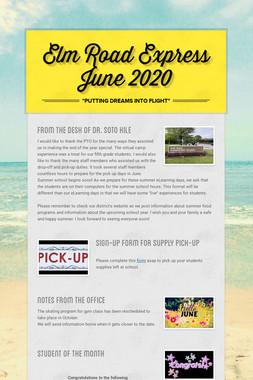 Elm Road Express   June 2020