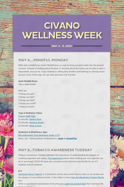 Civano Wellness Week