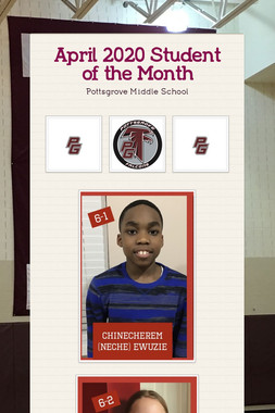 April 2020 Student of the Month