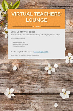 Virtual Teachers' Lounge
