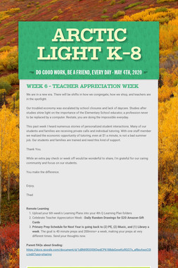 Arctic Light K-8