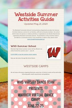 Westside Summer Activities Guide
