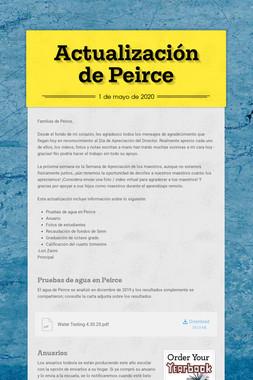 Actualización de Peirce