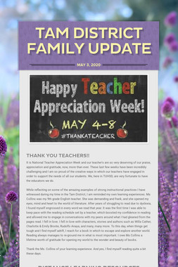 Tam District Family Update