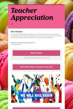 Celebrating BCHS Teachers and Staff