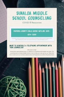 Sinaloa Middle School Counseling