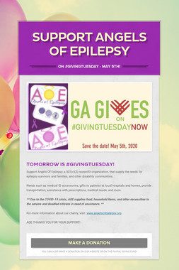 SUPPORT ANGELS OF EPILEPSY