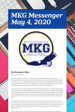 MKG Messenger May 4, 2020