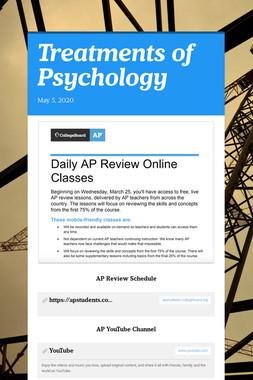 Treatments of Psychology