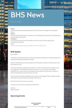 BHS News