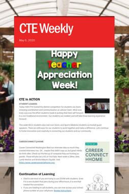 CTE Weekly