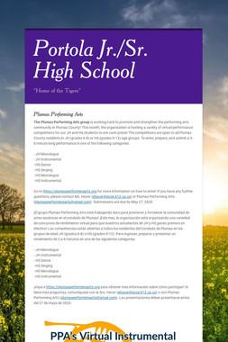 Portola Jr./Sr. High School
