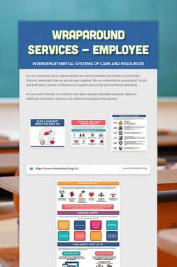 Wraparound Services -  Employee