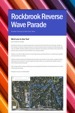 Rockbrook Reverse Wave Parade