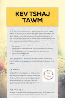Kev Tshaj Tawm