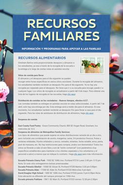RECURSOS FAMILIARES