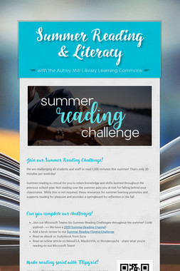 Summer Reading & Literacy