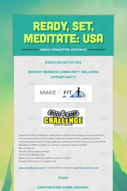 Ready, Set, Meditate: USA
