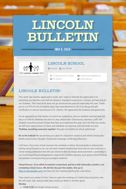 Lincoln Bulletin
