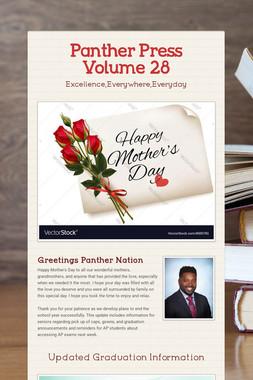 Panther Press Volume 28