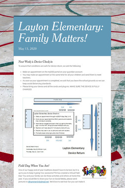Layton Elementary: Family Matters!