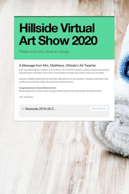 Hillside Virtual Art Show 2020