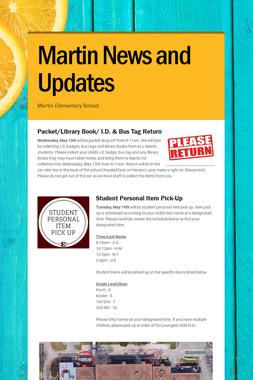 Martin News and Updates