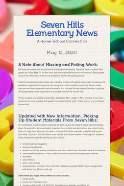 Seven Hills Elementary News