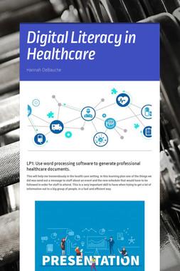 Digital Literacy in Healthcare
