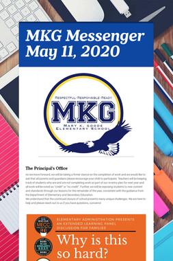 MKG Messenger May 11, 2020