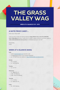The Grass Valley WAG