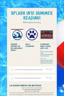 SPLASH INTO SUMMER READING!