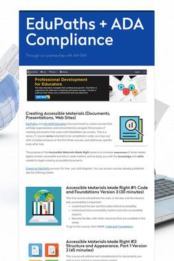 EduPaths + ADA Compliance