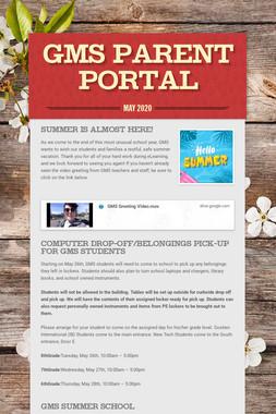 GMS Parent Portal