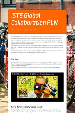 ISTE Global Collaboration PLN