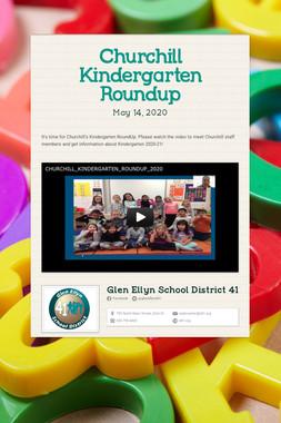 Churchill Kindergarten Roundup