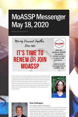 MoASSP Messenger May 18, 2020