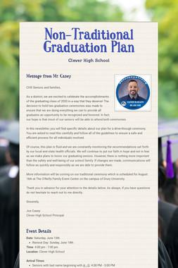 Non-Traditional Graduation Plan