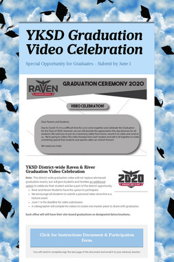 YKSD Graduation Video Celebration