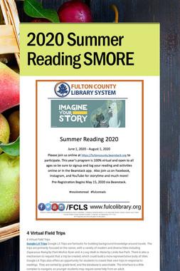 2020 Summer Reading SMORE