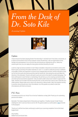 From the Desk of Dr. Soto Kile