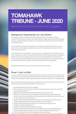 TOMAHAWK TRIBUNE - JUNE 2020