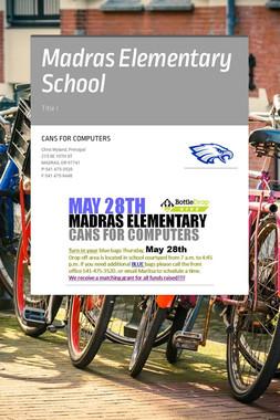 Madras Elementary School