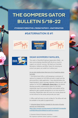 The Gompers GATOR Bulletin 5/18-22
