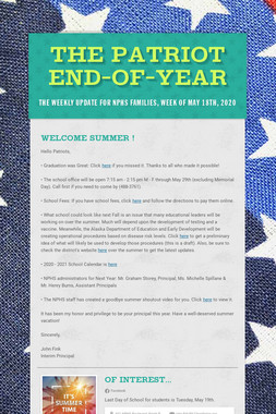 The Patriot End-of-Year