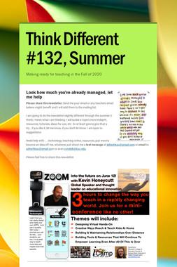 Think Different #132, Summer